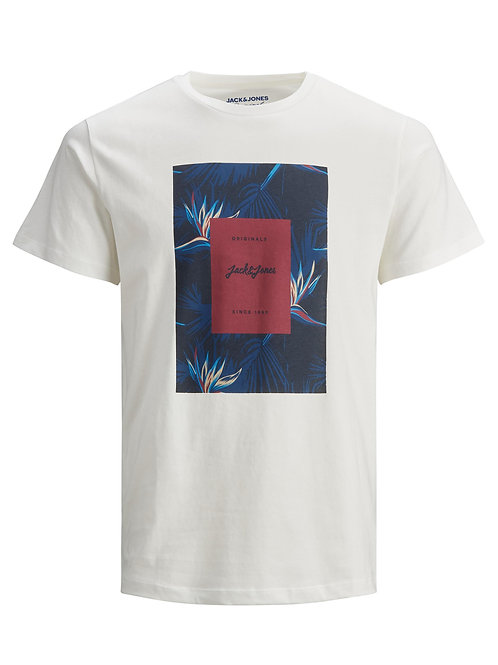 Florall tee