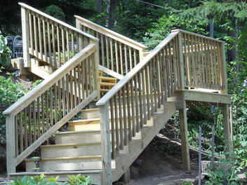 Outside Stairs Complete