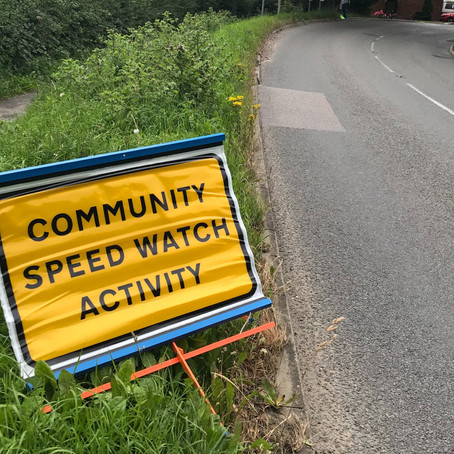 Speed Watch Volunteers Required!
