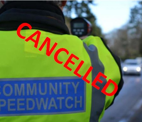 Community Speedwatch Volunteers Required!- CANCELLED