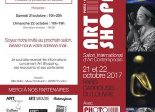 "HAYO SOL POPART 20/21 OCTOBER '17 AT CAROUSSEL LOUVRE PARIS ""SALON INTERNATIONAL D'ART"