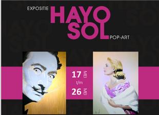 LARGE HAYO SOL EXHIBITION AT TRES ART GALLERY BREDA NETHERLANDS