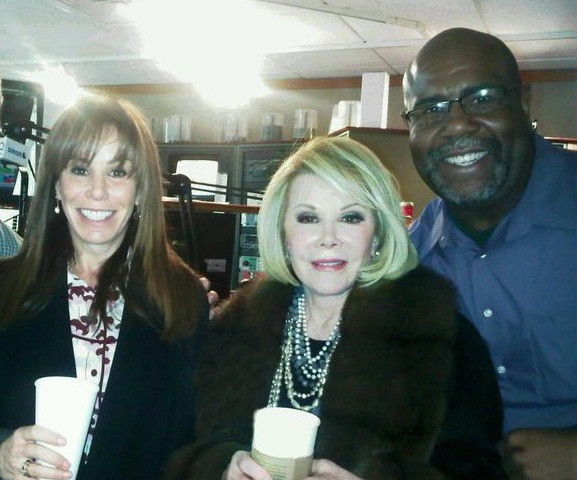 with Joan And Melissa Rivers