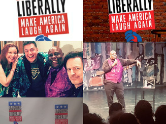 Laughing Liberally Off Broadway