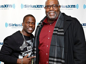 Hanging with Kevin Hart.