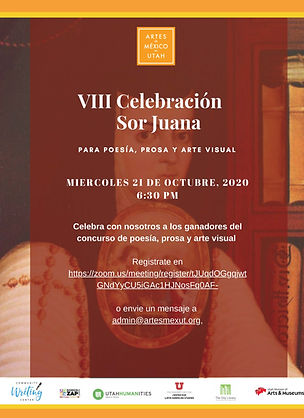 Flyer Sor Juana invite for social media_