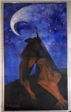 Rufino Tamayo_The Man_1953_lived in New