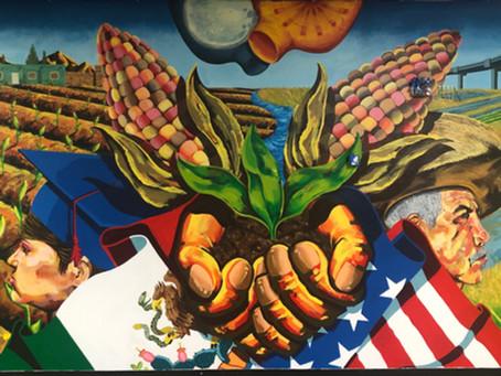 Sembrando el Futuro by Mexican Artist Nicolas Gonzalez
