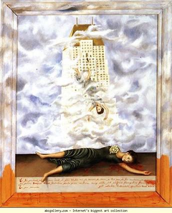 Frida Kahlo_Suicide of Dorothy Hale_1938
