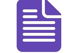 document purple