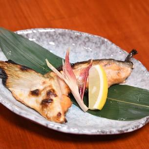 鮭のカマ塩焼き