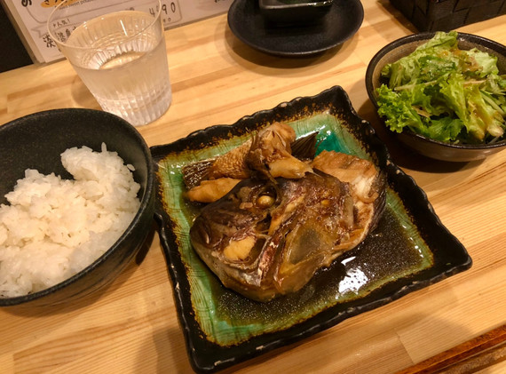 鯛の荒煮定食