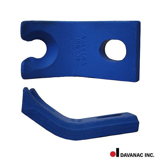 Single spike puller claw-nordco spike puller