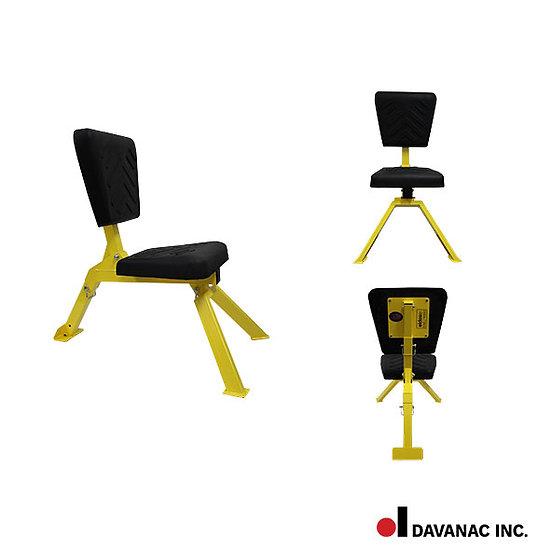 Chair, welders, track, legs & back