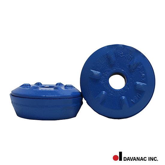 Adzer bit, round with tungsten carbide
