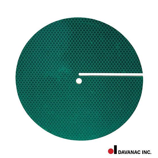 """Target, green, round, 8"""" dia. 2 sides, diamond"""