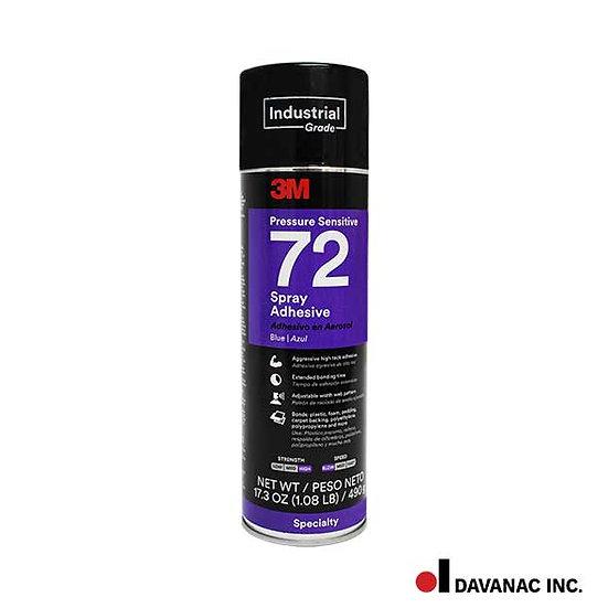 Spray adhesive 3m blue 72 - 16.20 oz.