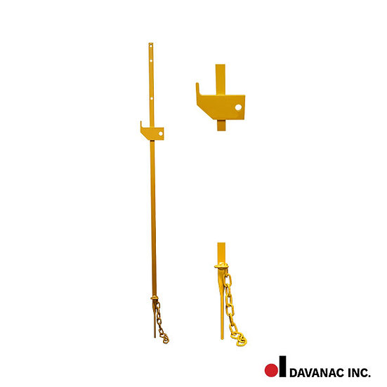 Portable derail staff - low profile (for pd-4 and pd-6)