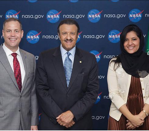 Saudi Ambassador & Astronaut Meeting NAS
