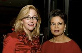 With Maureen Bunyan