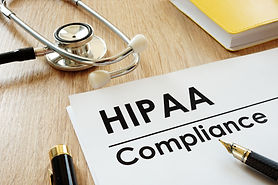 HIPAA Compliance with Yellow Notebook.jp