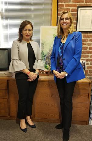 Hosting Honduran First Lady Candidate