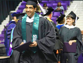 Receiving masters from Kansas State University