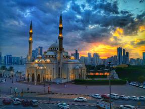Mosque in Sharjah UAE