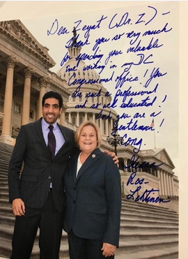 With Congresswoman Ros-Lehtinen