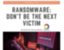 HTA RansomWare Article 2019 Cover Page_e