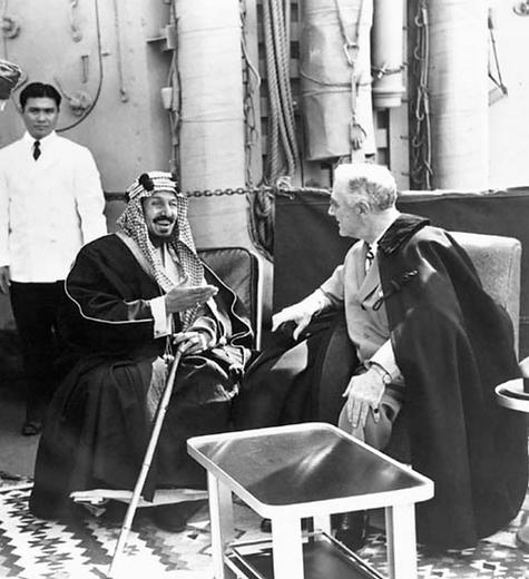 Ibn Saud & FDR Meet 1954 .png