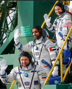 UAE, USA & Russians Headed to ISS Sept 2020