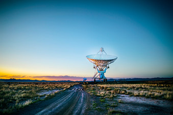 Large Satellite Array in Sorocco, New Mexico