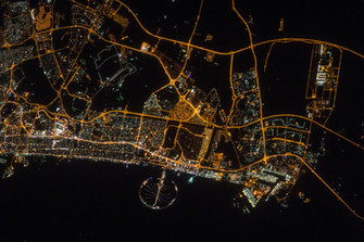 Dubai from Space