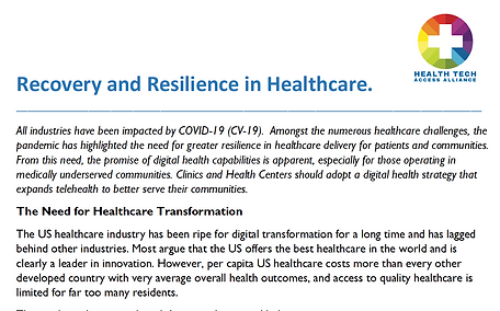 Recovery and Resilience in Healthcare.pn