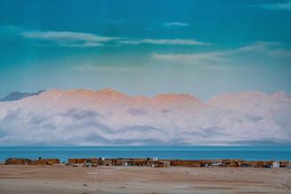 Looking from the Sinai to Saudi Arabia