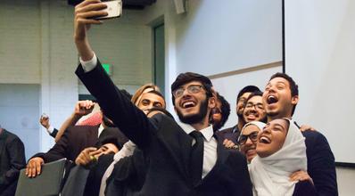 Saudi Students Visiting U.S.