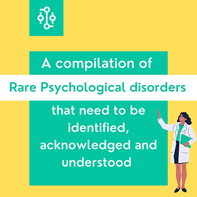Our instagram post on rare psychological diseases https://www.instagram.com/p/CGKJqHRj6oh/