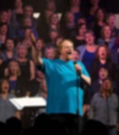 Tim singing