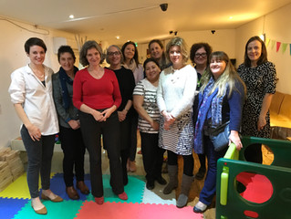 Perinatal Mental Health Group in West Dorset Celebrates it's First Birthday