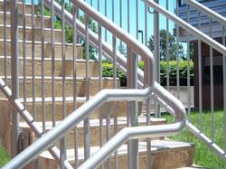 Exterior Metal Stairs & Railings