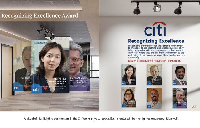 Citi Works Mentor Network Project