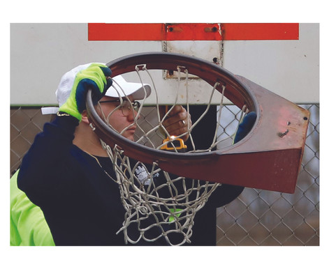 """Hoop Removal as a """"Crime Fighting"""" Tactic"""