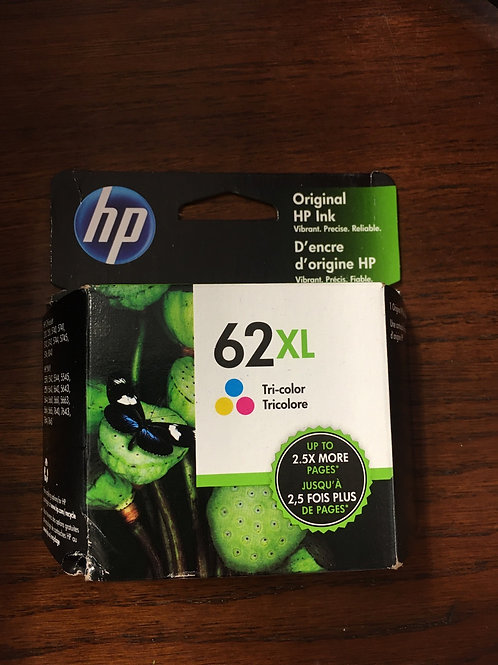 HP 62XL Tricolor Ink Cartridge