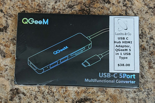 QGeeM USB-C multifunctional converter