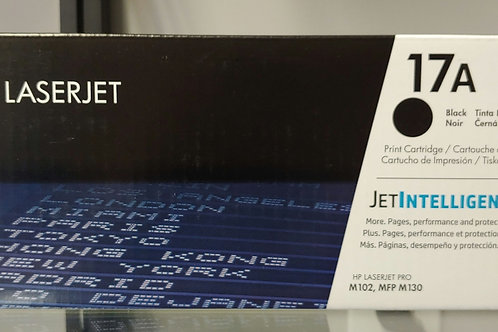 HP Laserjet 17A Black Toner