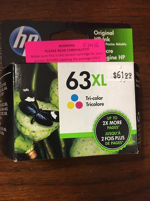 HP 63XL Tricolor
