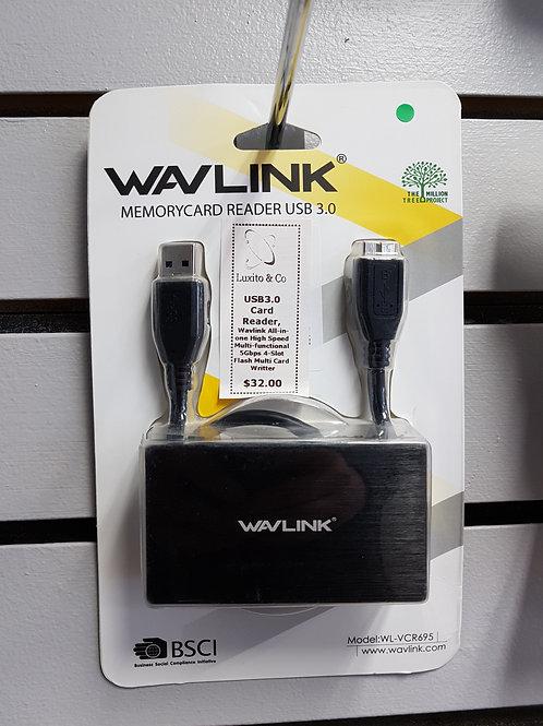 Wavelink Memory Card Reader USB 3.0