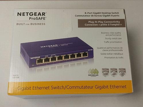 Netgear Prosafe 8-Port Gigabit Desktop Switch