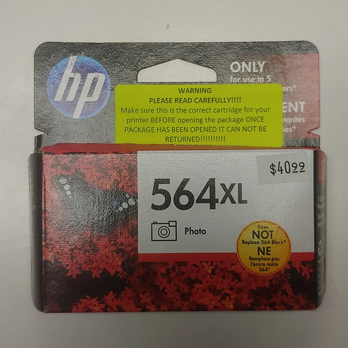 HP 564xl Photo Black Ink